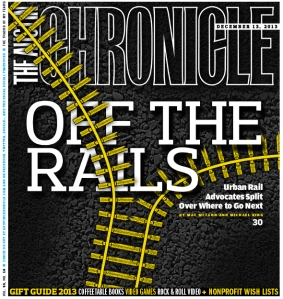 My cover story, co-written with Michael King, for the December 13th, 2013 print edition of the Austin Chronicle.
